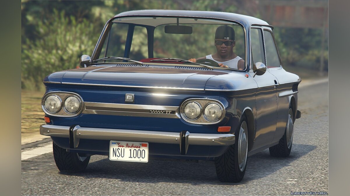 Машина NSU Prinz 1000 TT [Add-On / Replace | Tuning | Liveries | LODS] 1.0 для GTA 5