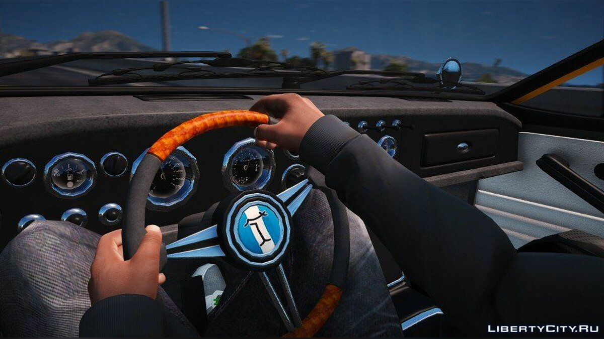 ��ашина De Tomaso Mangusta (Add-on/Replace) 1.0 для GTA 5
