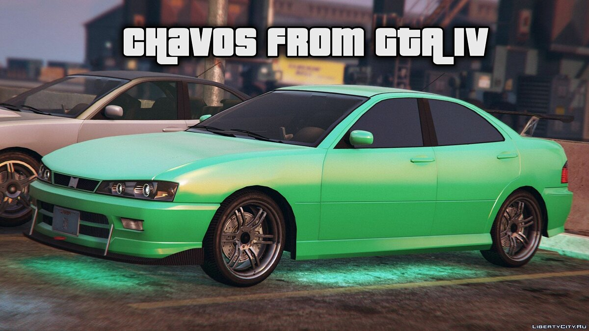 Chavos from GTA IV для GTA 5