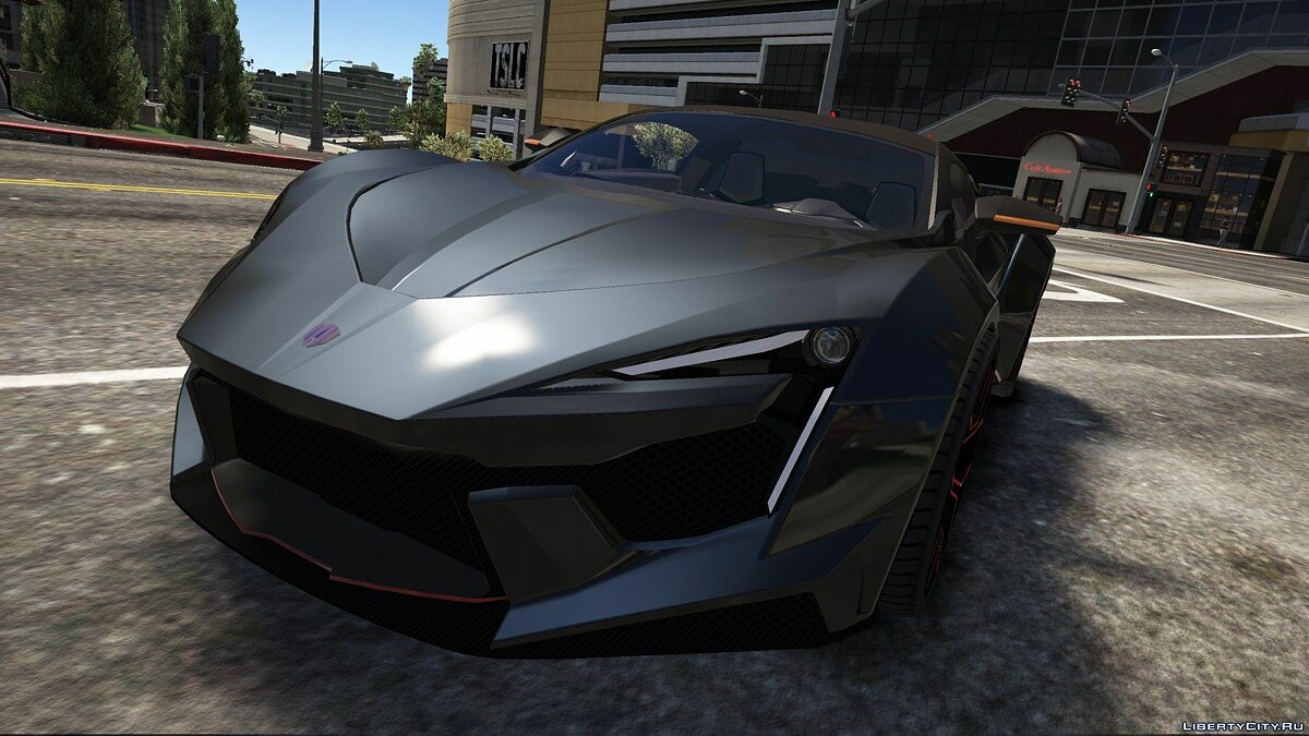 W Motors Fenyr Supersport [Add-On | Unlocked | Automatic Spoiler] 0.3 для GTA 5