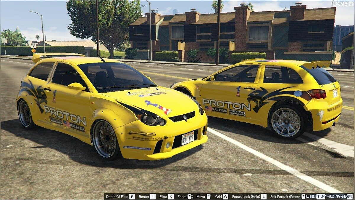 Proton Satria Neo with liveries [Add-on / Replace] 1.0 для GTA 5 - скриншот #8