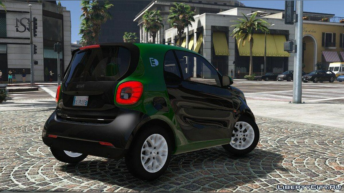 ��ашина Smart Fortwo Electric Drive (Add-on) 1.0 для GTA 5