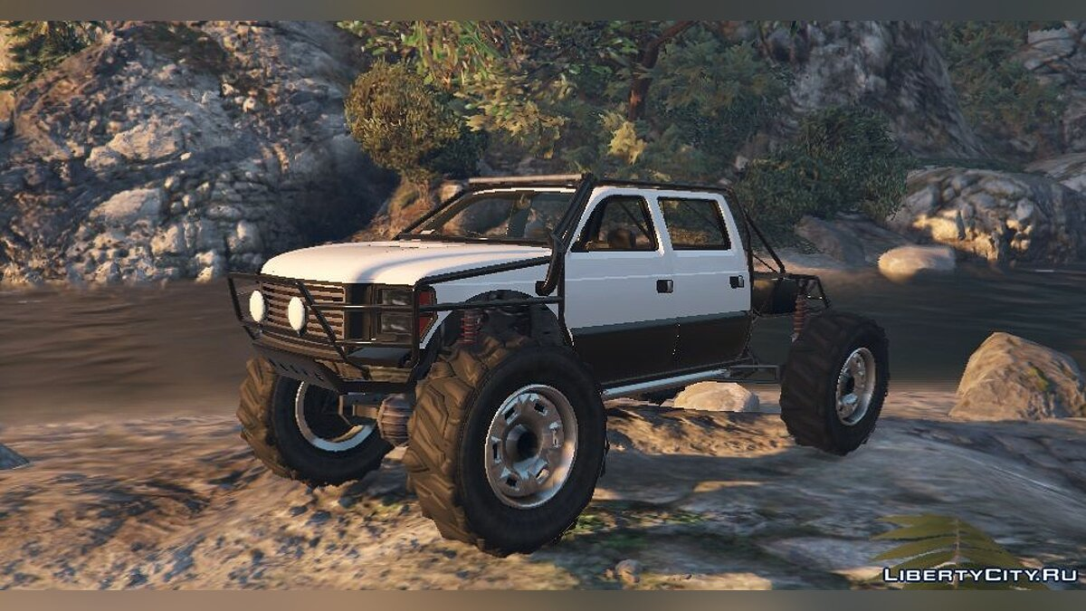 Sandking XL Trail Edition [Add-On / Replace] 1.2 для GTA 5