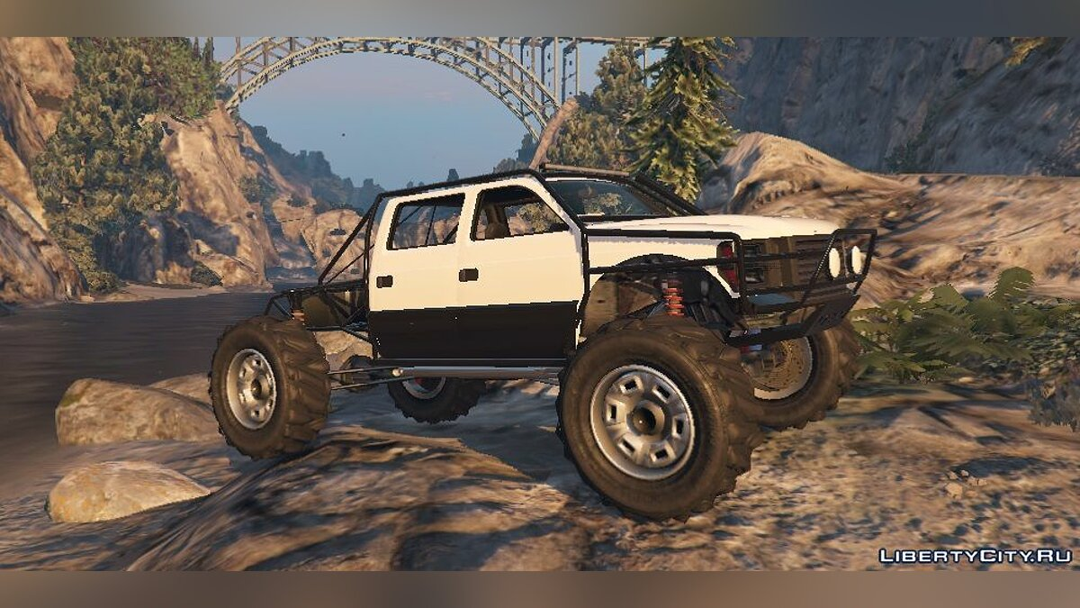 Sandking XL Trail Edition [Add-On / Replace] 1.2 для GTA 5 - скриншот #2