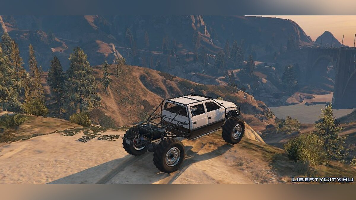 Sandking XL Trail Edition [Add-On / Replace] 1.2 для GTA 5 - скриншот #4