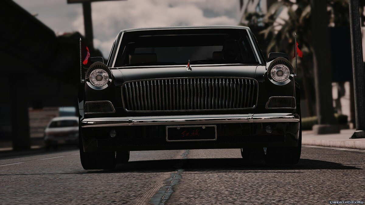 ��ашина SR红旗Hongqi E-class (Flags/add-on) 1.0 для GTA 5