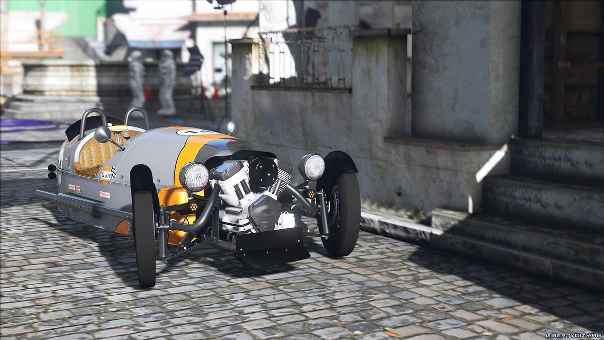 Morgan 3 Wheeler 2014 [ADD-ON] 0.5 для GTA 5