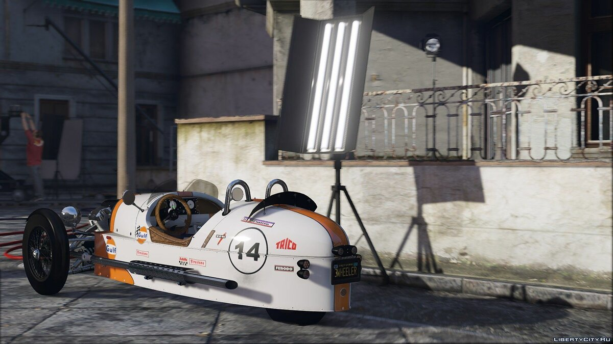 Morgan 3 Wheeler 2014 [ADD-ON] 0.5 для GTA 5 - скриншот #2
