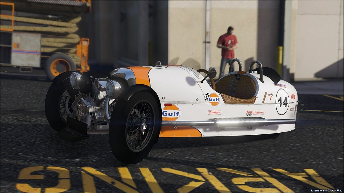 Morgan 3 Wheeler 2014 [ADD-ON] 0.5 для GTA 5 - скриншот #3