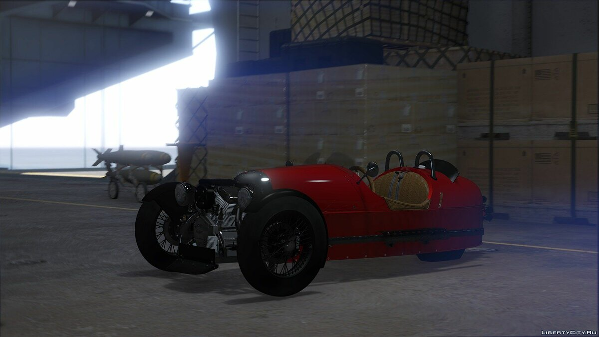 Morgan 3 Wheeler 2014 [ADD-ON] 0.5 для GTA 5 - скриншот #6
