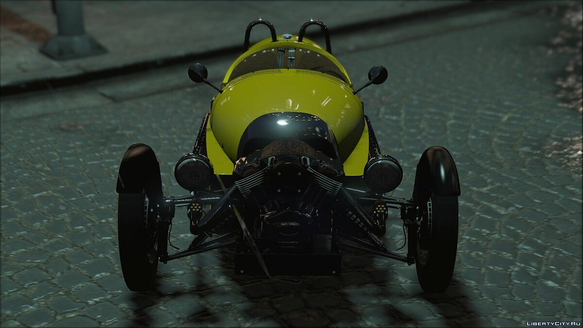 Morgan 3 Wheeler 2014 [ADD-ON] 0.5 для GTA 5 - скриншот #11