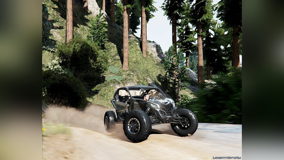 Машина 2018 Can Am Maverick [ Add-On Extras | Dirt ] 2.0 для GTA 5