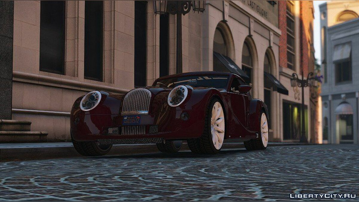 Машина 2010 Morgan Aero SuperSports [Add-On / Replace] 1.4 для GTA 5