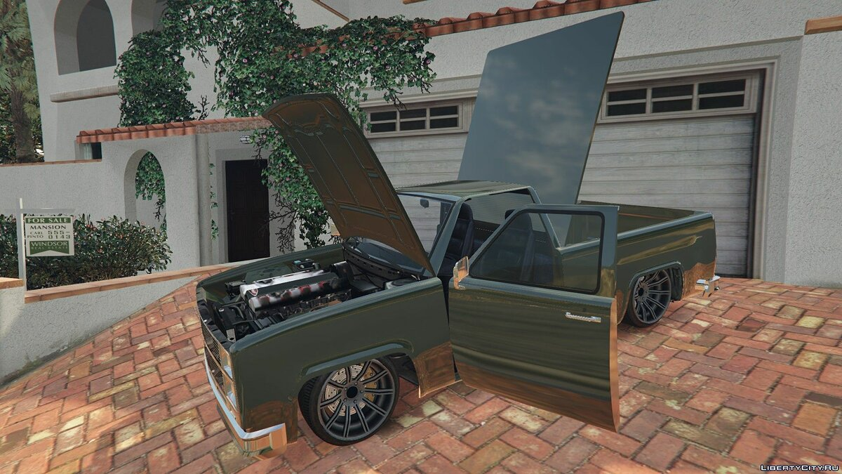 ��ашина Bobcat XL Custom [ADDON | REPLACE] 1.0 для GTA 5