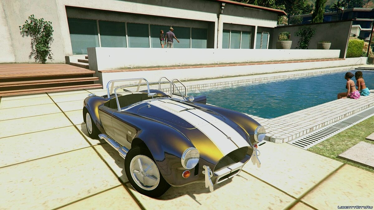 Машина AC / Shelby Cobra Roofed Version [Extras | Unlocked] 1.0 для GTA 5