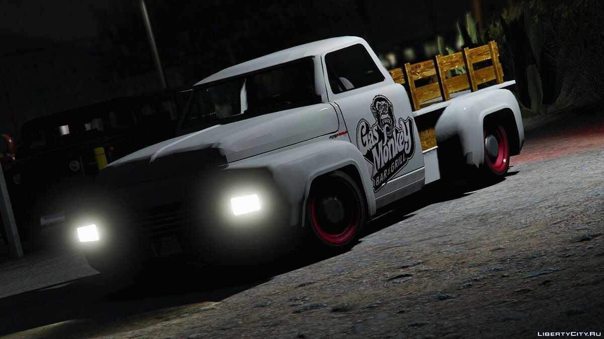 Gas Monkeys Hot Rod 1.0 для GTA 5