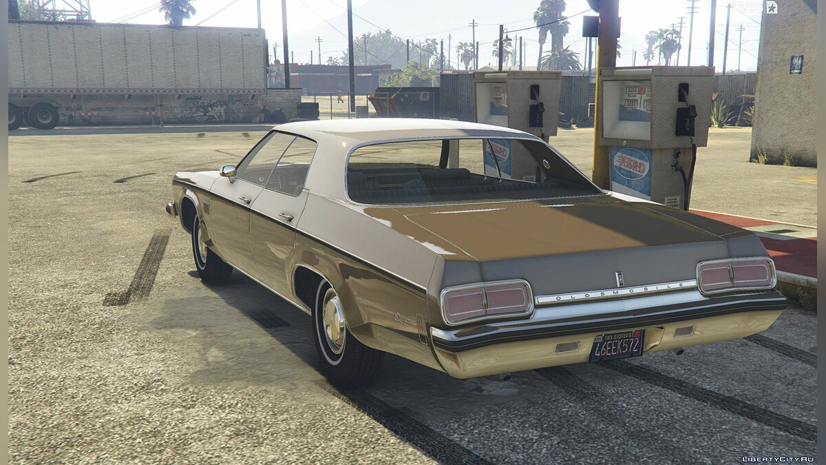 1973 Oldsmobile Delta 88 [Add-On / Replace ] 2.8 для GTA 5 - скриншот #3