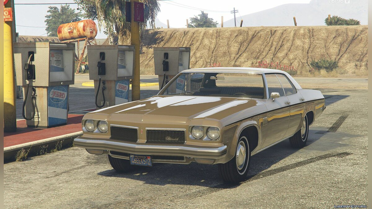 1973 Oldsmobile Delta 88 [Add-On / Replace ] 2.8 для GTA 5 - скриншот #4