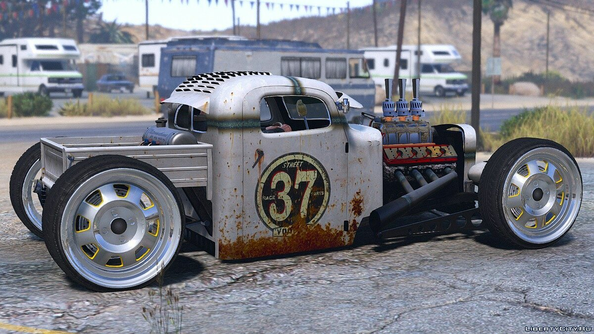 ��ашина Dumont Type 47 Rat Rod [Animated | Replace] 2.0 для GTA 5