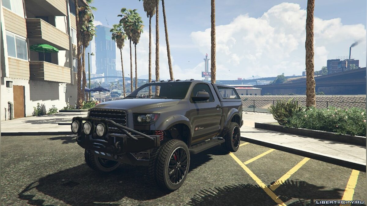 Contender Single Cab [Replace] 1.0 для GTA 5