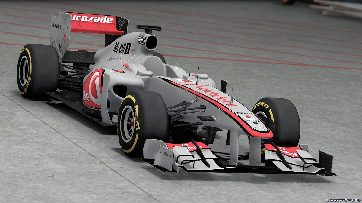 2011 FORMULA A F1 [Add-On / Replace | Liveries | Template] 1.0 для GTA 5