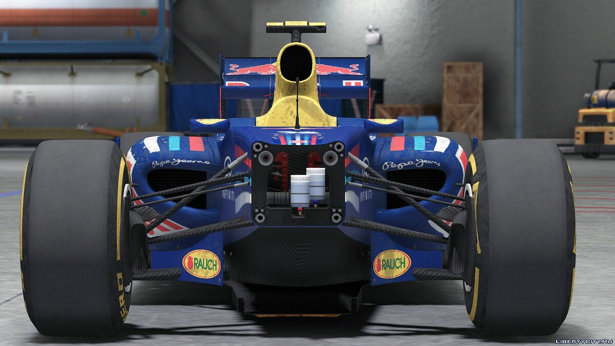 2011 FORMULA A F1 [Add-On / Replace | Liveries | Template] 1.0 для GTA 5 - скриншот #5