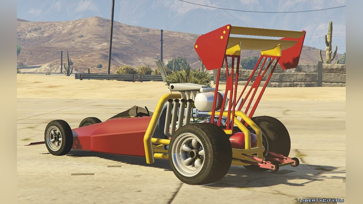 80s Top-fuel Dragster для GTA 5