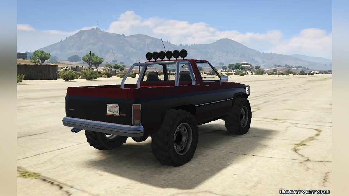 Машина Rancher Lifted [Replace] 1.0 для GTA 5