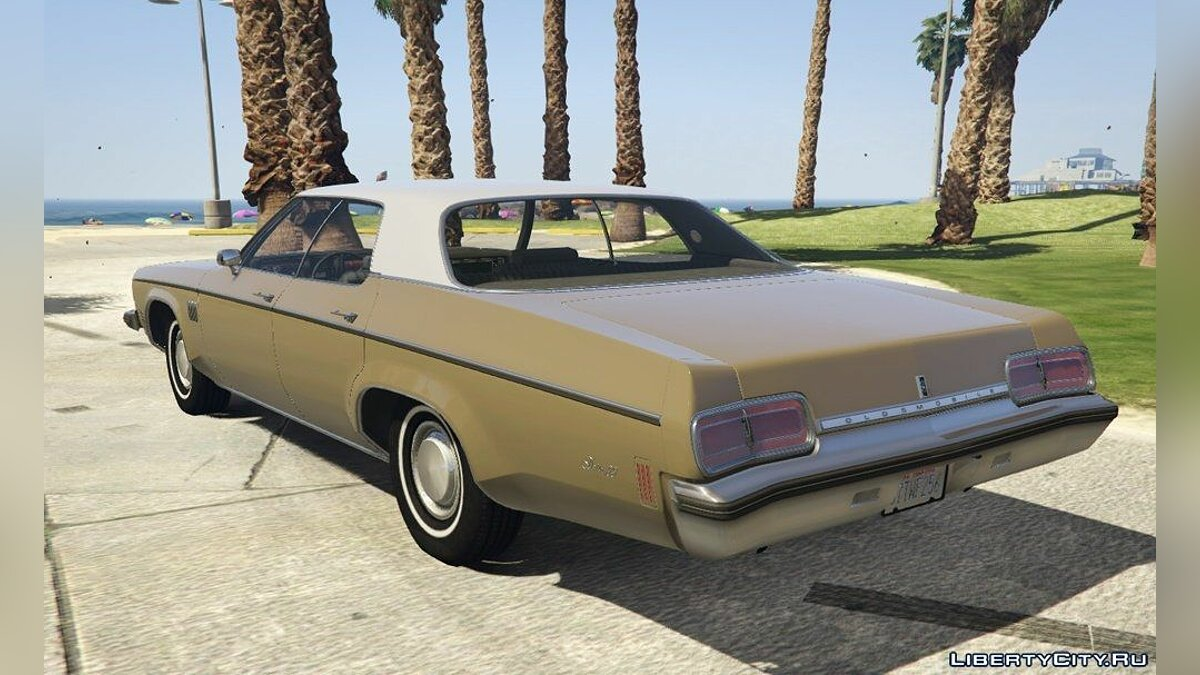 1973 Oldsmobile Delta 88 [Add-On] v2.5 для GTA 5 - скриншот #4
