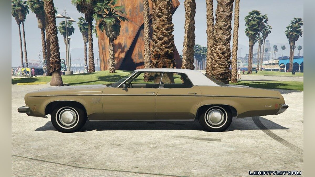 1973 Oldsmobile Delta 88 [Add-On] v2.5 для GTA 5 - скриншот #5