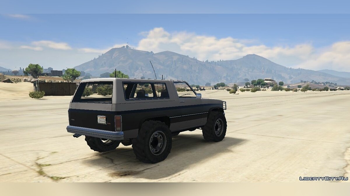 Машина Rancher Lifted [Replace] 1.2 для GTA 5