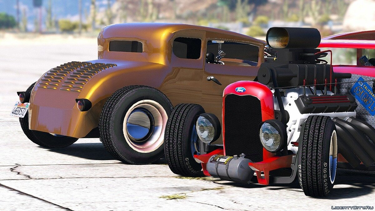 Smith 34 Hot-Rod 1.0 для GTA 5