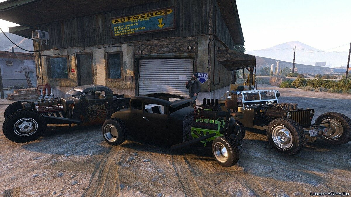 Smith 34 Hot-Rod 1.0 для GTA 5 - скриншот #4