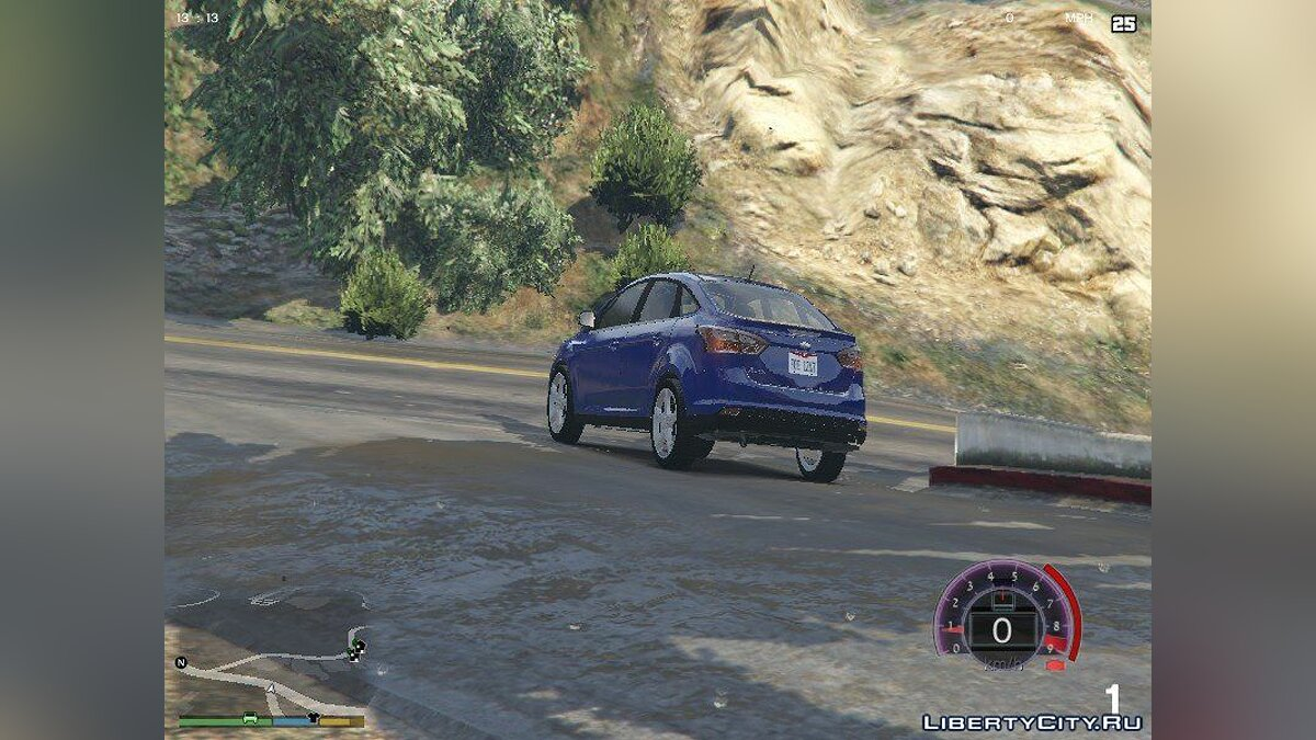 Машина 2012 Ford Focus Titanium Sedan для GTA 5