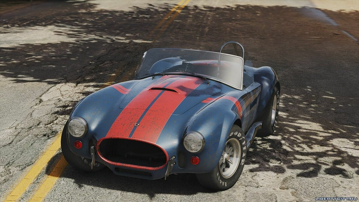 1965 Shelby Cobra 427 A/C [Add-On | Liveries | Template] 1.0b для GTA 5