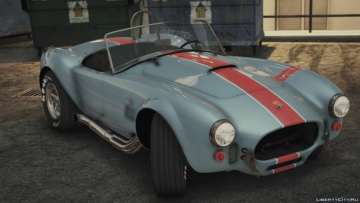 1965 Shelby Cobra 427 A/C [Add-On | Liveries | Template] 1.0b для GTA 5 - скриншот #2
