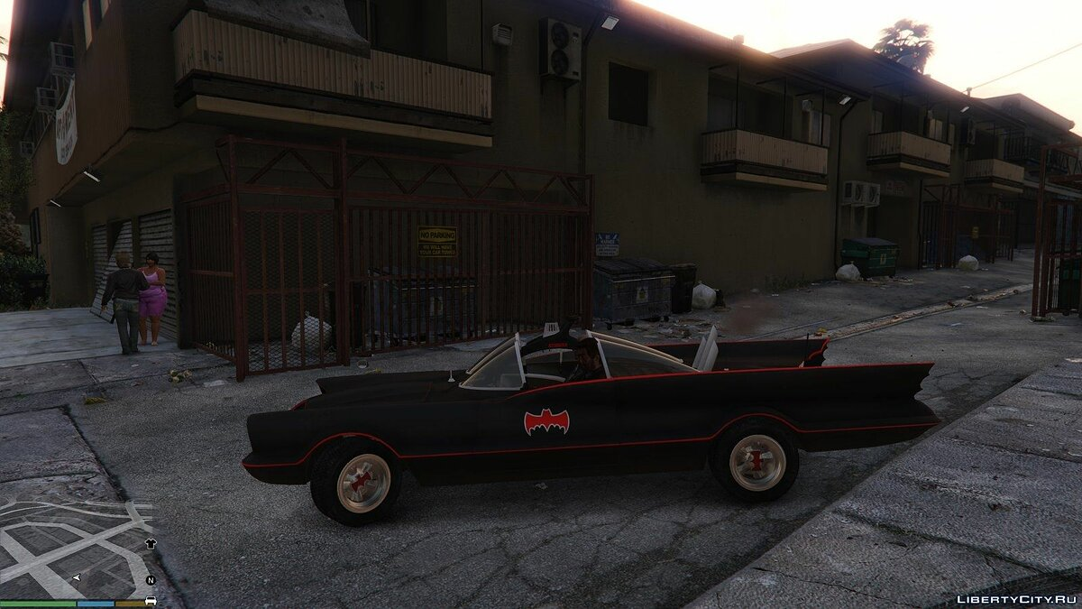 Batmobile 1966 BETA для GTA 5 - скриншот #2