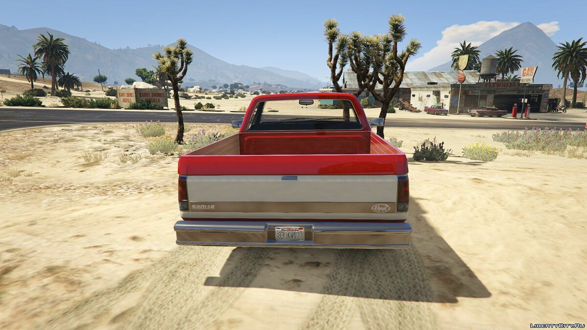��ашина Vapid Sadler Retro [Add-On / Replace] 1.0 для GTA 5
