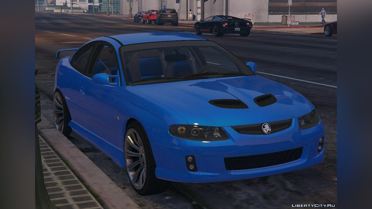Holden Monaro CV8-R 2005 [Add-On / Replace] 2.0 для GTA 5