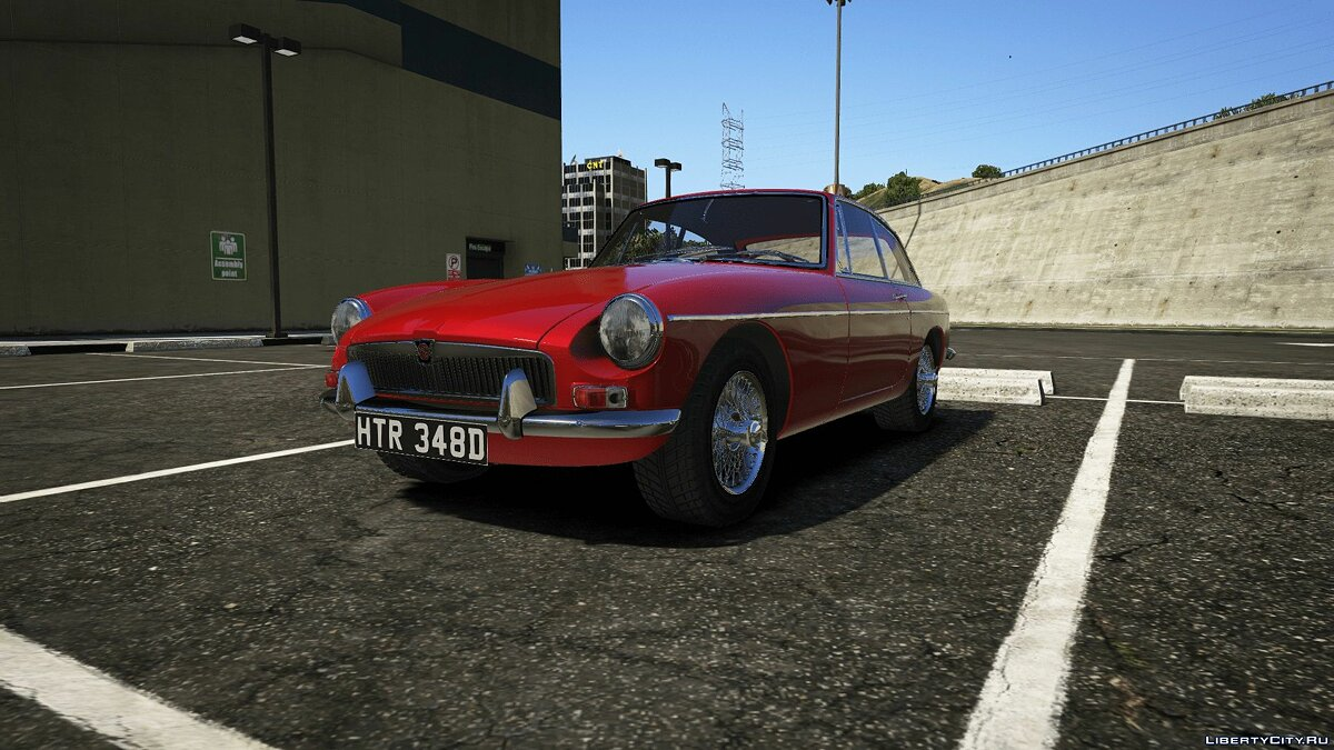 1965 MG MGB GT [Add-On] 1.0 для GTA 5