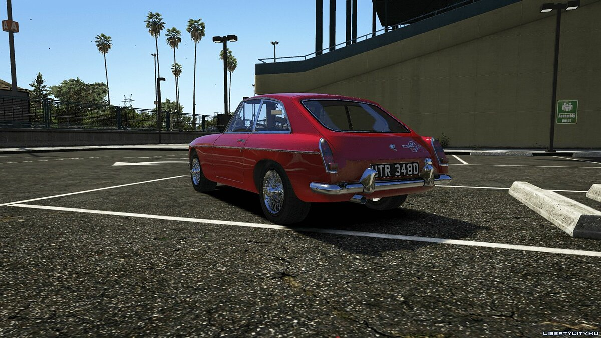 1965 MG MGB GT [Add-On] 1.0 для GTA 5 - скриншот #2