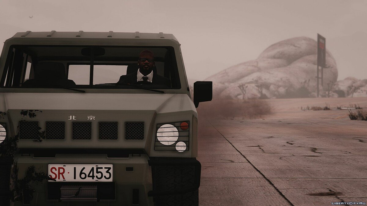��ашина SR勇士硬顶BAIC Motor Warrior - hard-top (add-on) 1.0 для GTA 5