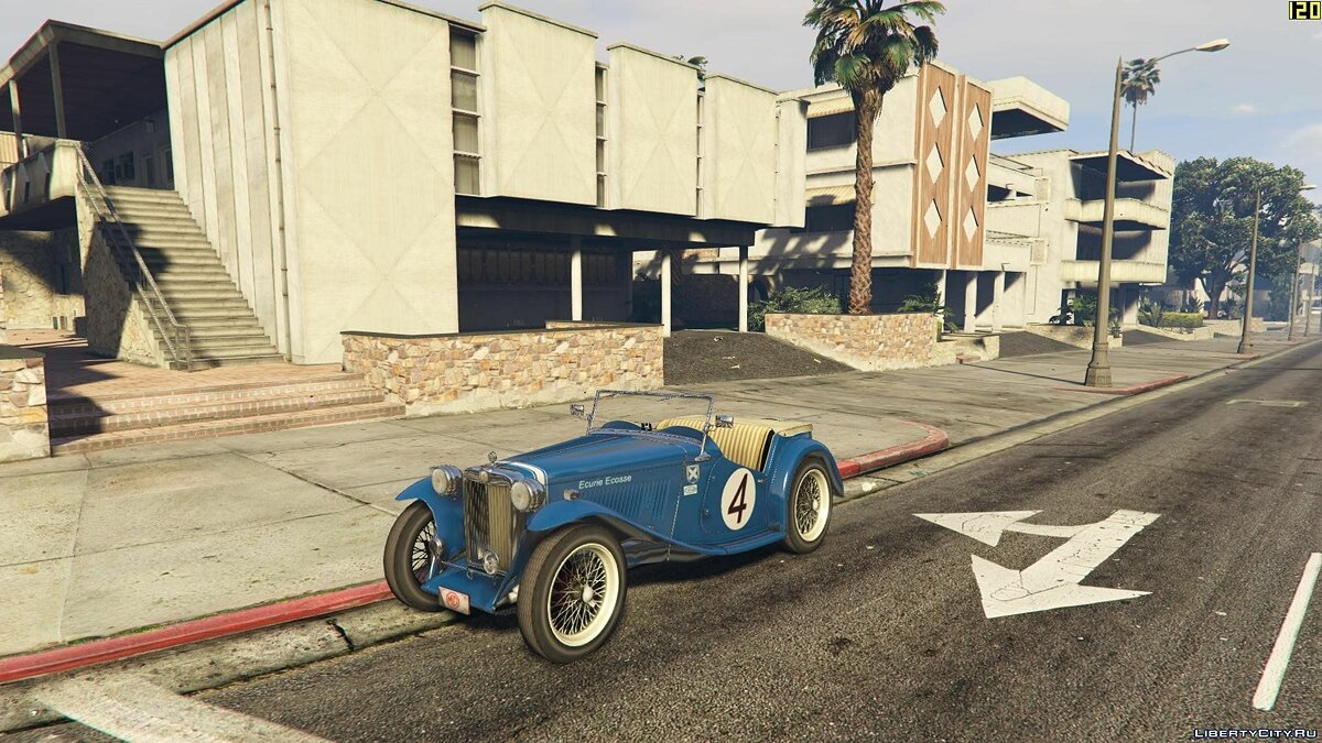 1949 MG TC [+ Add-On] для GTA 5