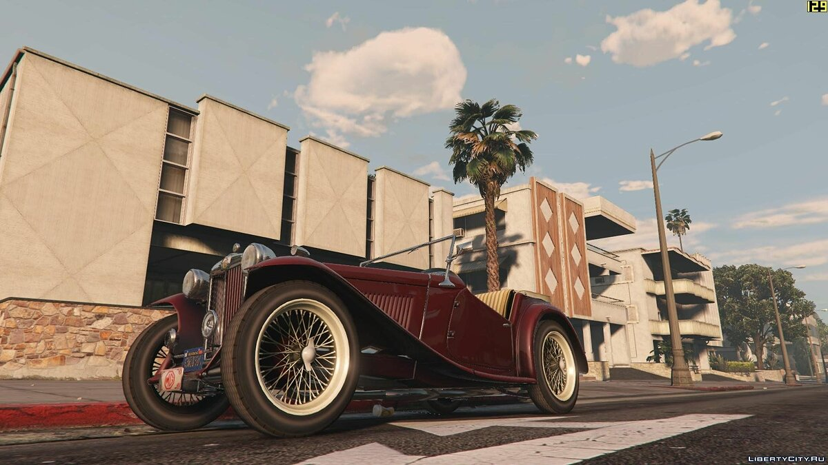 1949 MG TC [+ Add-On] для GTA 5 - скриншот #4