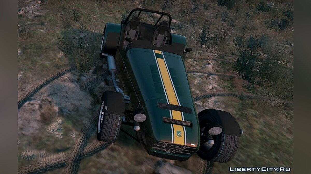 Caterham Super 7 R620 для GTA 5
