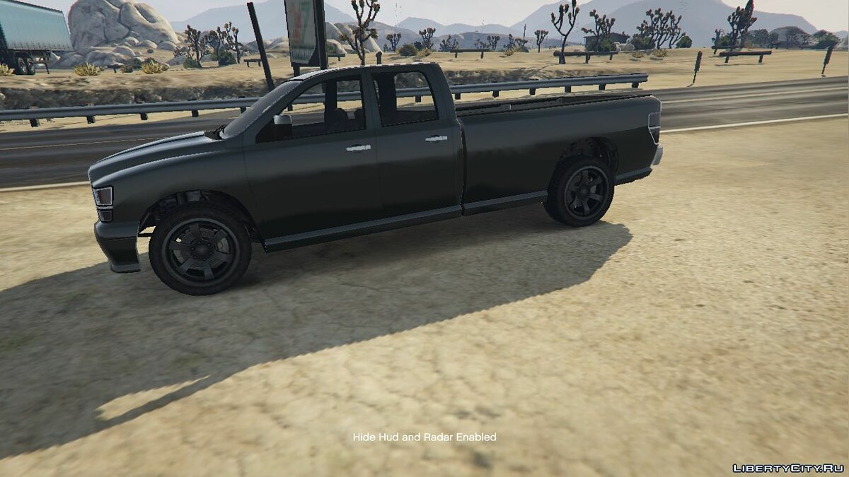 Bravado Bison Quad Cab Long Bed 1.0 для GTA 5
