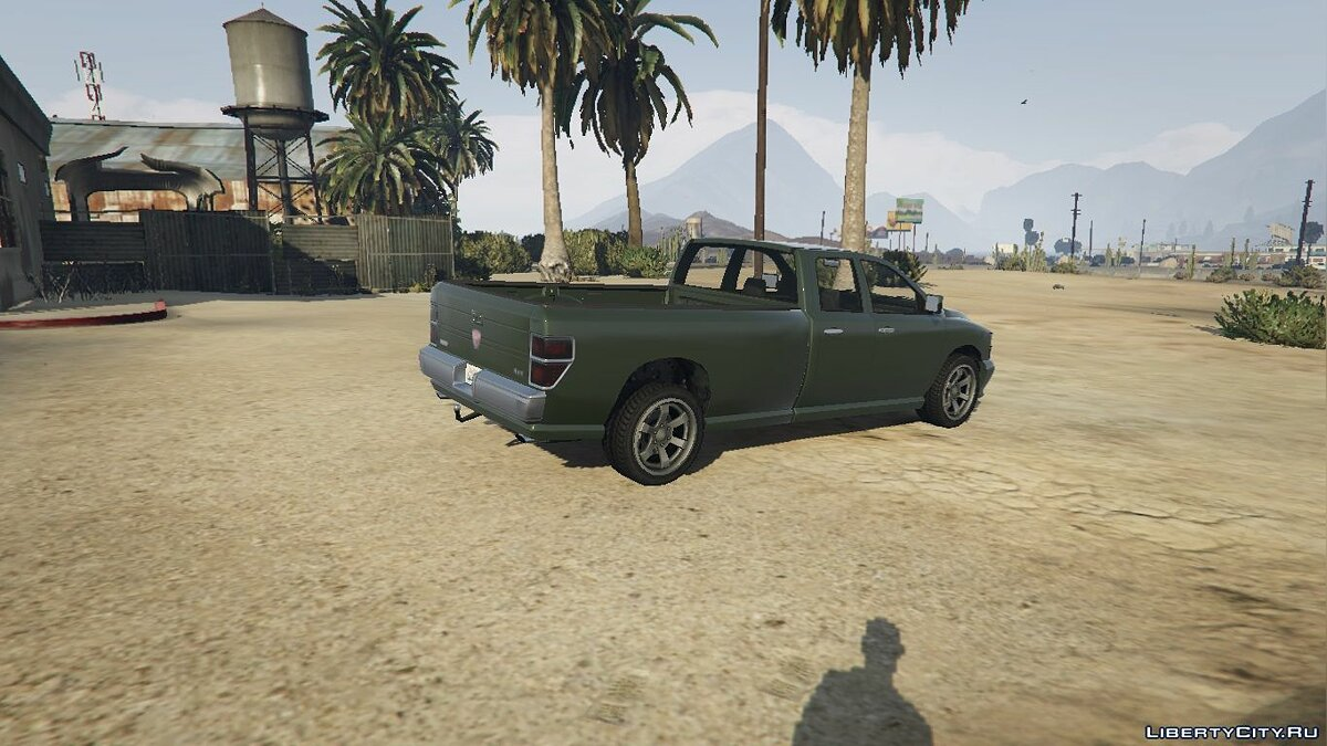 Bravado Bison Quad Cab Long Bed 1.0 для GTA 5 - скриншот #2