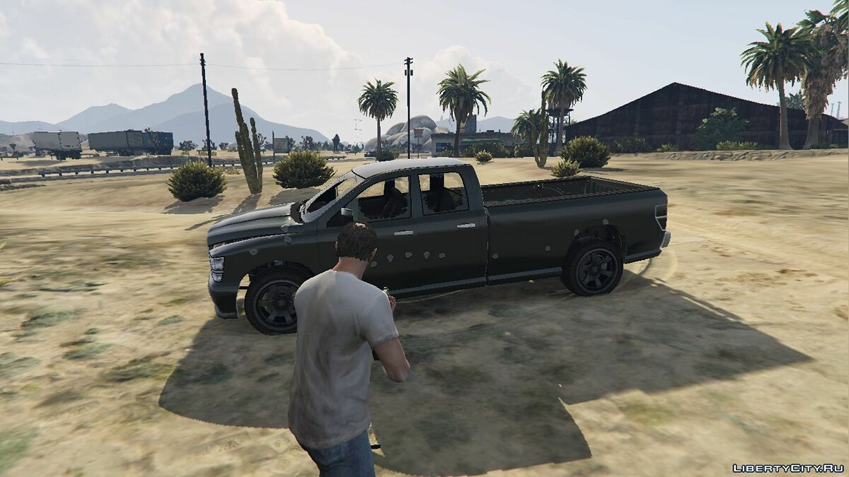 Bravado Bison Quad Cab Long Bed 1.0 для GTA 5 - скриншот #3