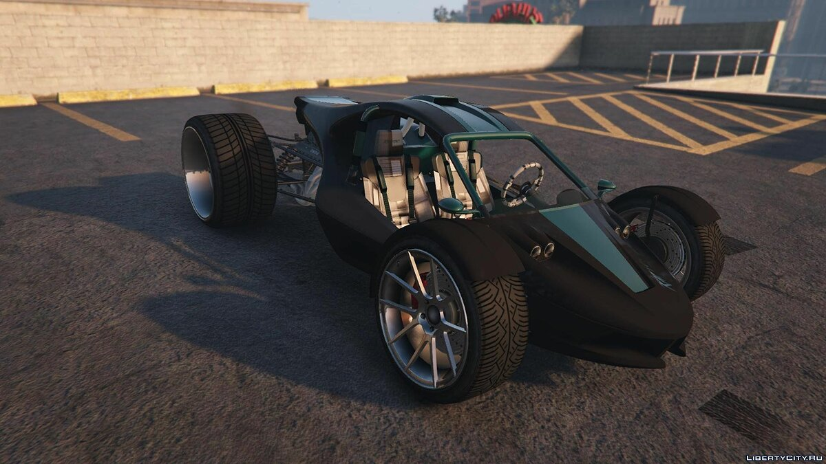 Raptor Car [Add-On / Replace] 2.0 для GTA 5 - скриншот #4