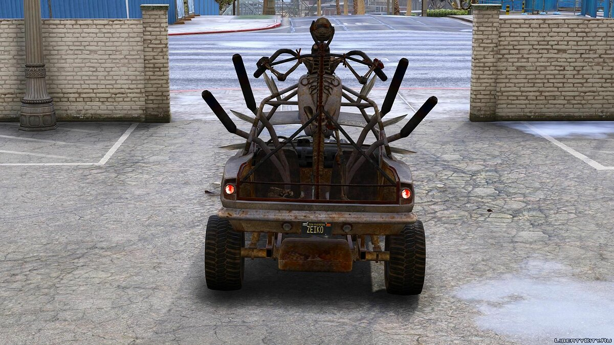 Машина THE DEMENTED CHARIOT [Add-On   Replace] 1.0 для GTA 5